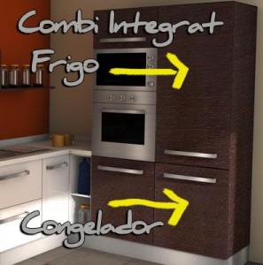 """Frigorífics """"COMBI"""" per reformes integrals de cuines"""